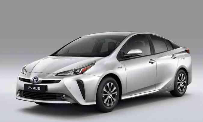 Foram emplacadas apenas 22 unidades do Toyota Prius em novembro, efeito da chegada do Corolla Hybrid(foto: Toyota/Divulgação)