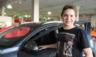 Interessado no HR-V, Ricardo Teixeira da Silva passou na Banzai para fazer um test-drive e negociar o modelo(foto: Cristina Horta/EM/D.A Press)