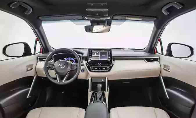 Interior Corolla Cross(foto: Toyota/Divulgação)