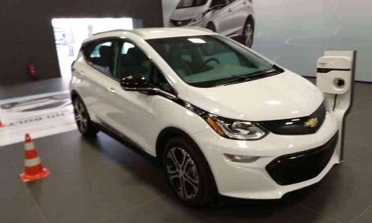 Com preço de R$ 175 mil, o Chevrolet Bolt EV chegará ao Brasil em 2019 - Pedro Cerqueira/EM/D.A Press