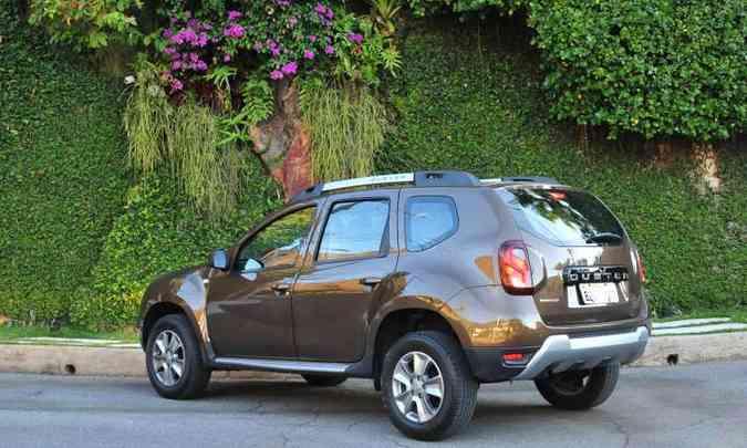 Modelo tem bons ângulos de entrada e saída, além de boa altura em relação ao solo(foto: Gladyston Rodrigues/EM/D.A Press)