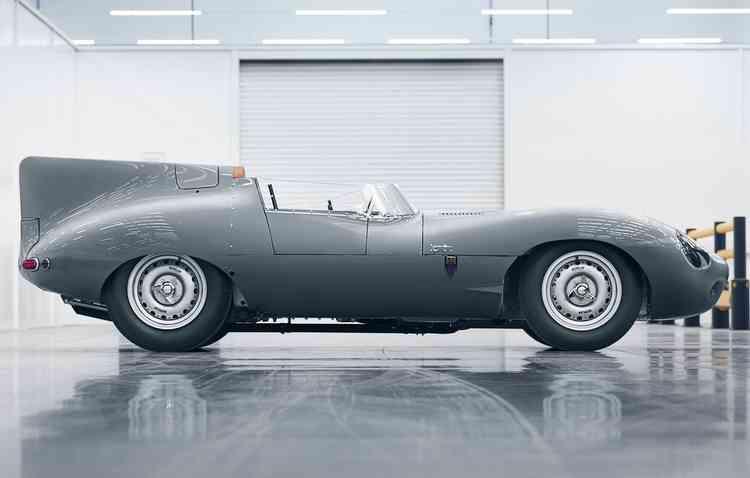 Motor disponível é um XK de seis cilindros. Foto: Jaguar / Divulgação -