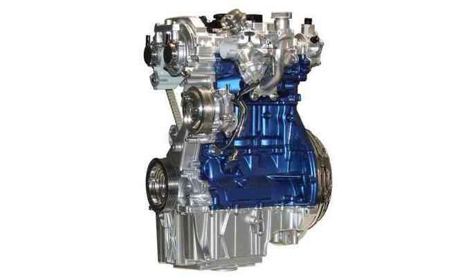 Com bloco de ferro fundido e correia banhada a óleo que dispensa manutenção, motor gera 125cv(foto: Ford/Divulgação)