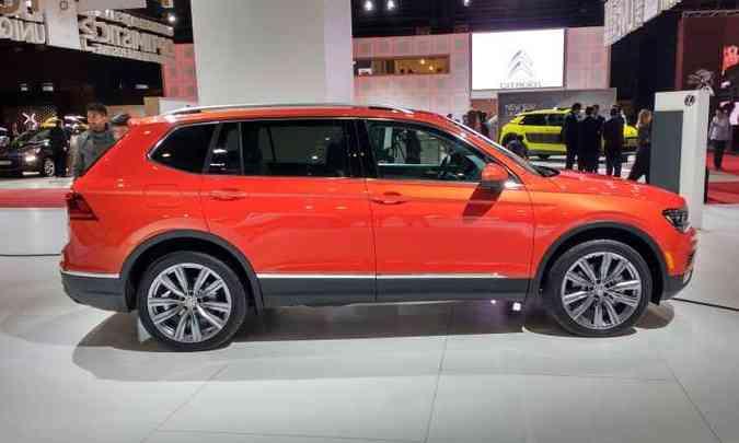 VW TIGUAN ALLSPACE(foto: Pedro Cerqueira/EM/D.A Press)