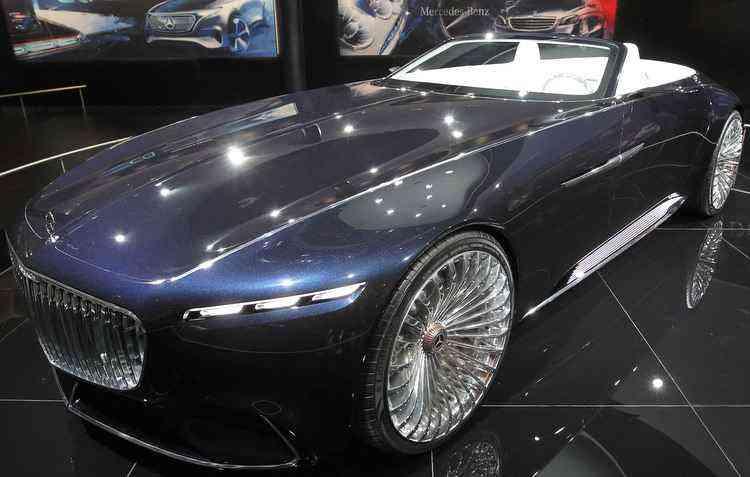Protótipo dispõe de motorização elétrica, com potência de 750 cv  - Daniel Roland / AFP