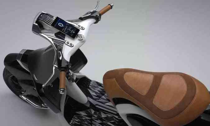O painel é um aparelho celular(foto: Yamaha/Divulgação )