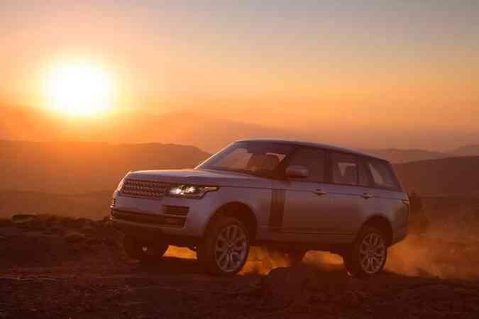 Land Rover preserva linhas clássicas no novo Range RoverLand Rover/Divulgação