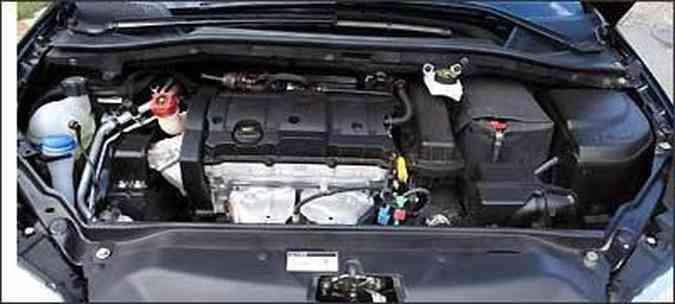 Motor 1.6 16V flex tem bom fôlego, mesmo em baixas rotações