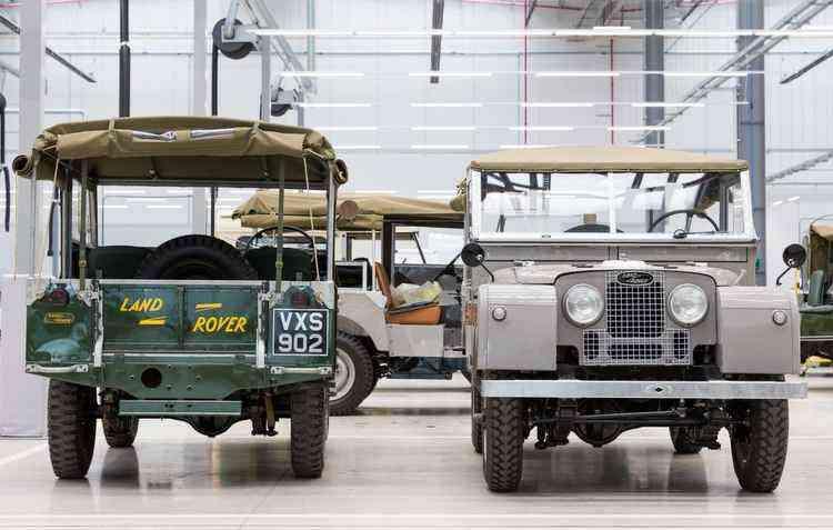 Modelos clássicos também estarão a venda - Jaguar Land Rover / Divulgação