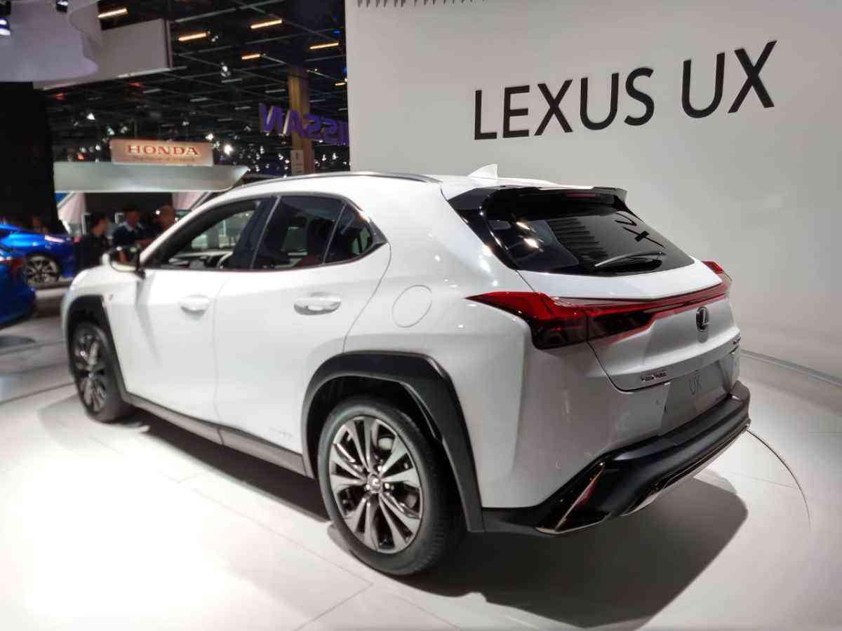 O Lexus UX será vendido em três versões: Dynamic, Luxoury e F-Spor, ainda sem preços definidos - Pedro Cerqueira/EM/D.A Press