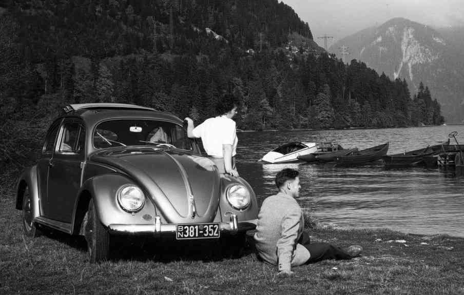 Modelo fabricado em 1938 - Volkswagen/ Divulgação