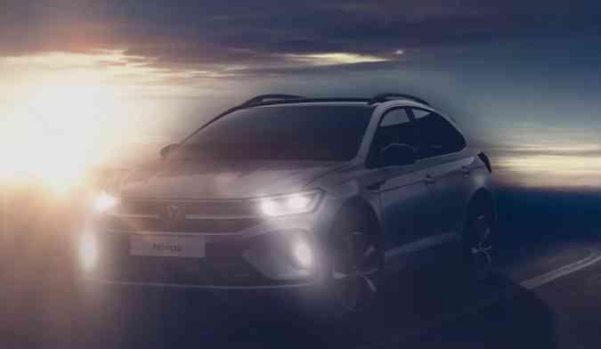 O VW Nivus, SUV compacto, teve seu lançamento confirmado para o fim de junho(foto: Volkswagen/Divulgação)