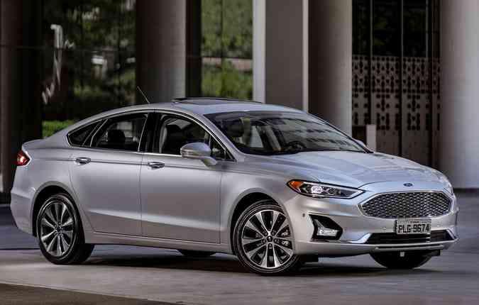 Novo design da grade e faróis mais acentuados. Foto: Ford/ Divulgação