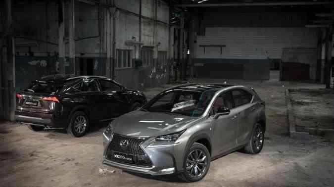 Lexus NX 200t Lexus/Divulgação