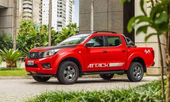 A versão Attack volta a ser oferecida depois de anos de ausência(foto: Nissan/Divulgação)