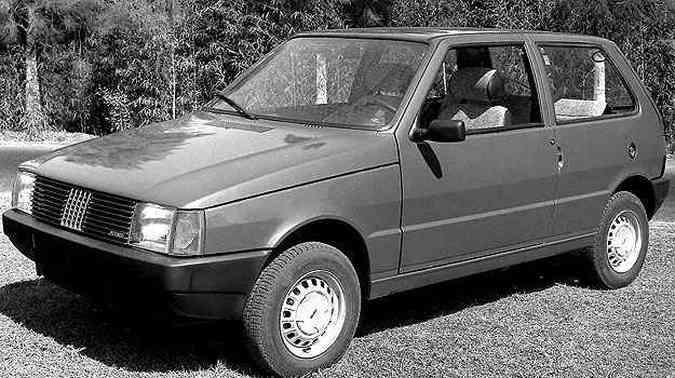 Compacto foi lançado em 1984 para substituir o 147(foto: Fiat/Divulgação)