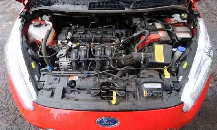 Motor 1.6 16V proporciona desempenho satisfatório, com bom torque e baixo consumo de combustível - Leandro Couri/EM/D.A Press