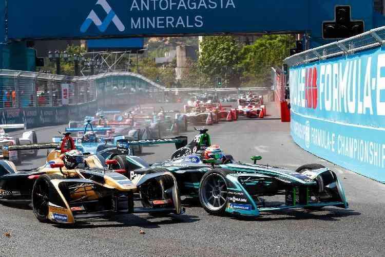 Fórmula E em Santiago, Chile - ABB/ Divulgação