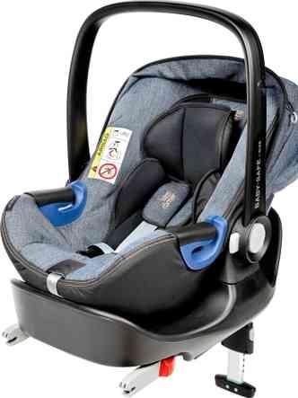 Dispositivo de retenção infantil do tipo I-size traz ancoragem Isofix e 'perna' de apoio colocada no assoalho(foto: Britax/Divulgação)