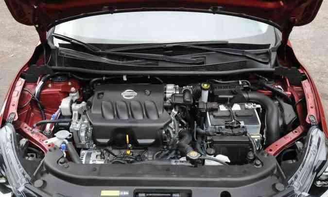 Motor 2.0 dá conta do recado, com bom torque em baixas rotações(foto: Leandro Couri/EM/D.A Press)
