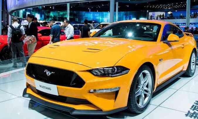 Parece que agora a Ford vai realmente trazer o novo Mustang para o Brasil em versão topo de linha (foto: Johannes Eisele/AFP)