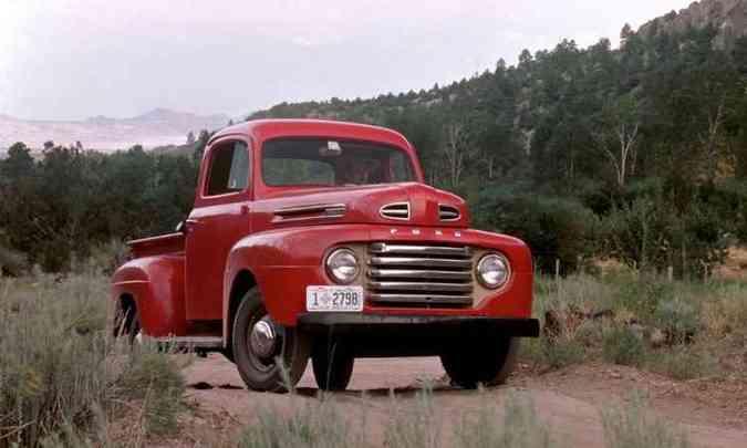 1948: F-1(foto: Ford/Divulgação)