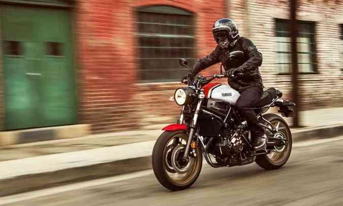 O conceito Faster Sons, algo como filhos velozes, foi a inspiração na concepção da linha XRS(foto: Yamaha/Divulgação)