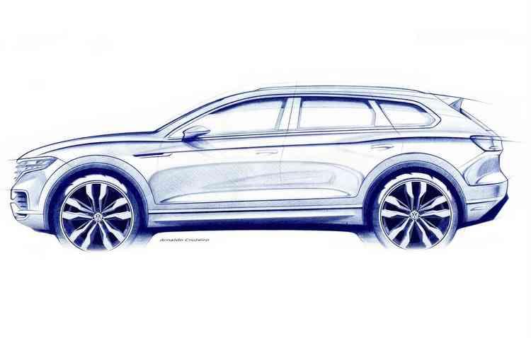 Dia 23 de março foi o dia escolhido para apresentar o SUV ao público, na China. Foto: Volkswagen / Divulgação -