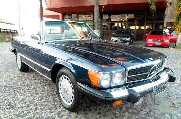 Mercedes-Benz SL 480 1975 está mais acessível: R$ 105 mil - Reprodução/Vrum