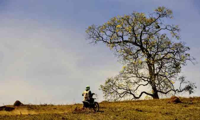 De Socorro (SP) a Caxambu (MG), os pilotos passaram por inúmeras belas paisagens(foto: Janjão Santiago/Mundo Press)