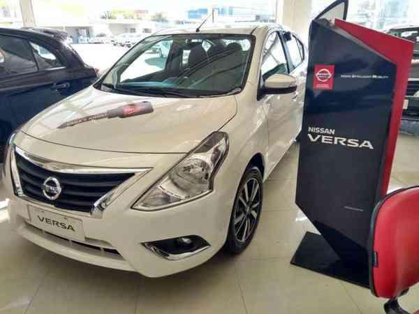 Nissan Versa Sl 1.6 16v Flexstart 4p Aut. 2019 R$ 73.990,00 MG VRUM