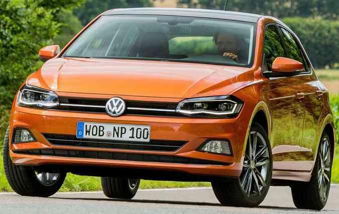Novo Polo foi líder de vendas no mercado brasileiro (foto: Volkswagen / Divulgação )