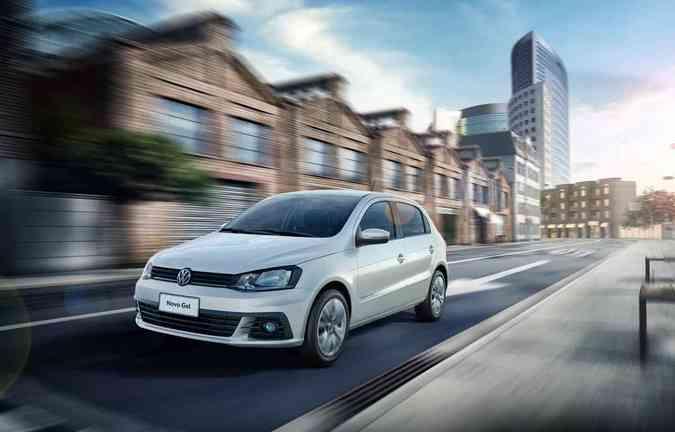 Volkswagen Gol e Voyage 2017Volkswagen/Divulgação