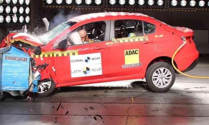 O Latin NCAP considerou que o modelo tem %u201Cboa projeção e desenvolvimento na sua concepção, fato que deveria permitir melhorias%u201D(foto: Latin NCAP/Divulgação)