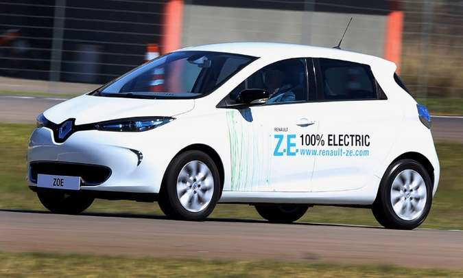 RENAULT ZOE - R$ 149 mil(foto: Renault/Divulgação)