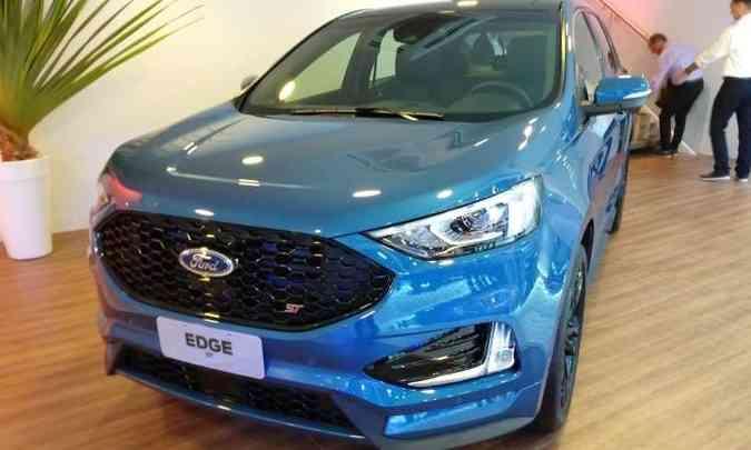 A montadora confirmou também que o Edge ST chegará ao mercado brasileiro em breve(foto: Ford/Divulgação)