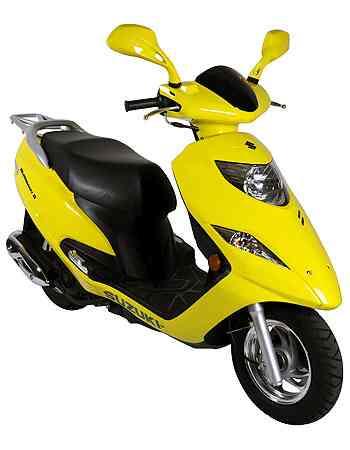 Novo farol e setas no escudo frontal fazem <br>parte da modernização do visual - Suzuki/Divulgação