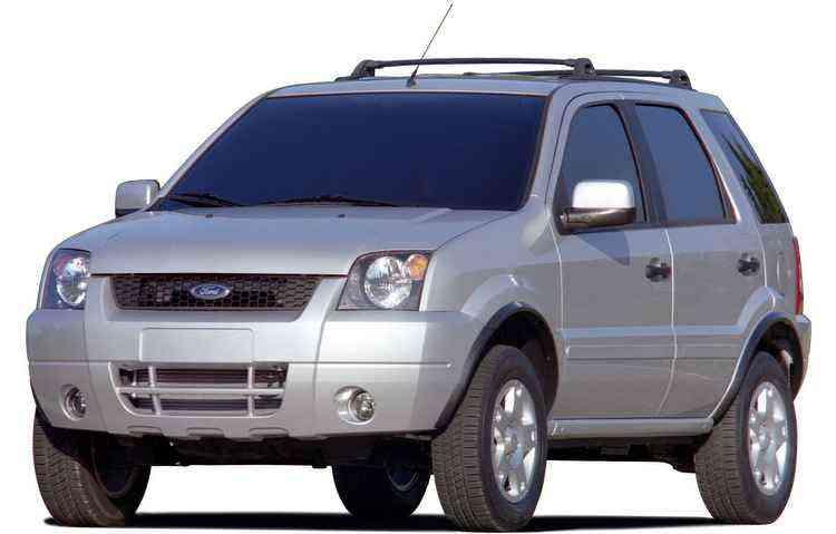 Primeiro EcoSport foi lançado em 2003 - Ford / Divulgação