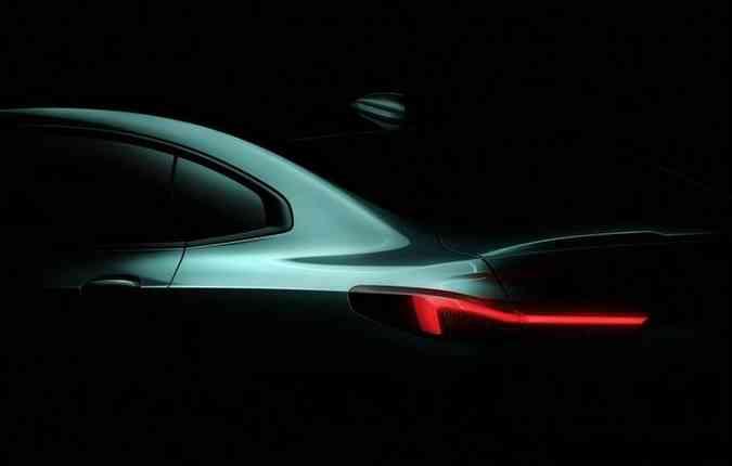O série 2 Grand Coupe será o primeiro compacto premium da marca. Foto: Divulgação