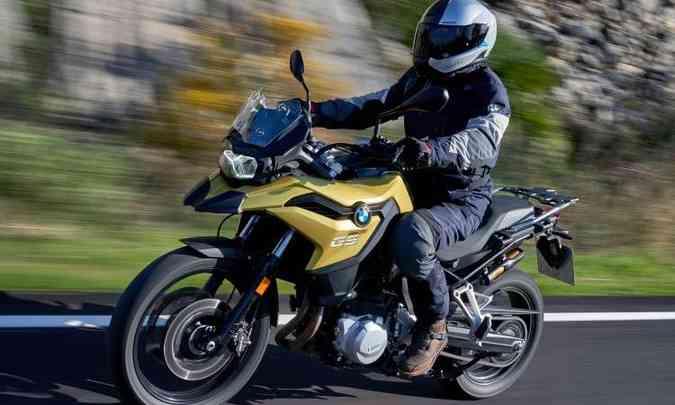 A F 750 GS tem potência ajustada para 77cv(foto: BMW/Divulgação )