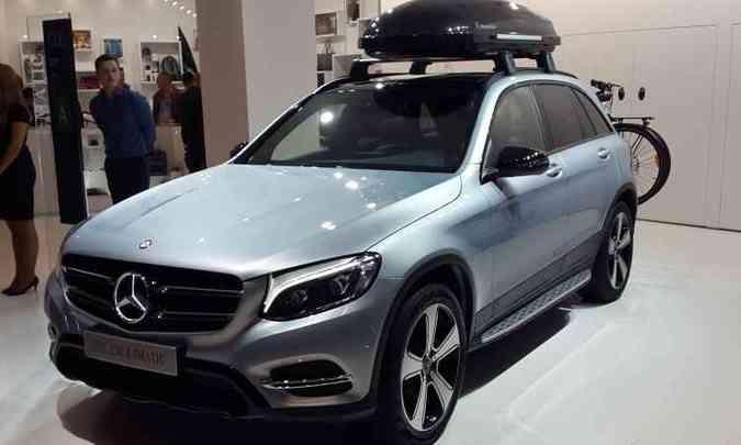 Mercedes-Benz GLC (é o novo nome do antigo GLK)(foto: Pedro Cerqueira/EM/D.A Press)