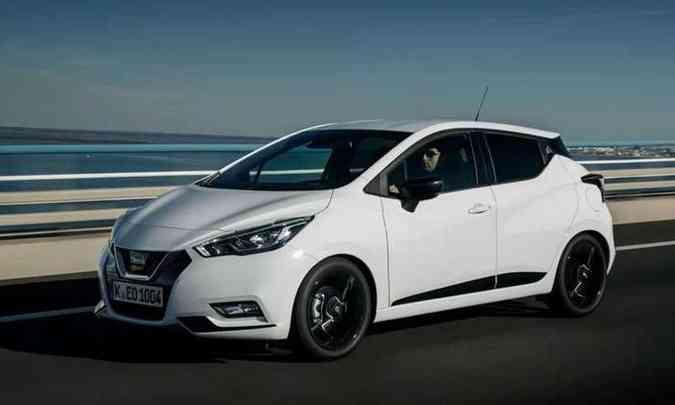 A nova geração do Nissan March foi descartada pelo presidente da marca no Brasil(foto: Nissan/Divulgação)