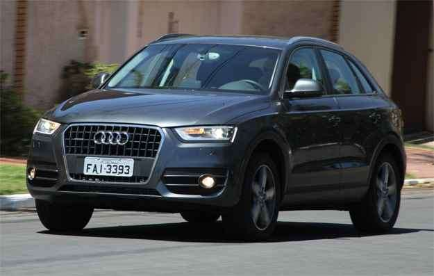 Audi Q3 2.0: As dimensões externas mais reduzidas do Q3 não revelam o bom espaço interno do modelo - Marlos Ney Vidal/EM/D.A Press