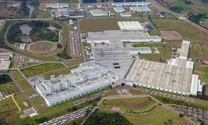 Fábrica de São José dos Pinhais (PR) foi inaugurada em 1999(foto: Volkswagen/Divulgação)