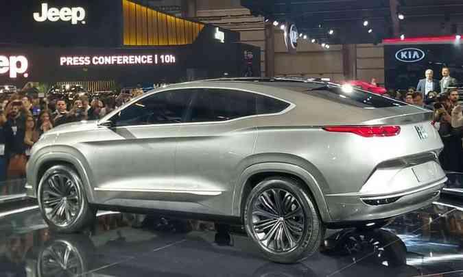 Conceito Fiat Fastback, o SUV da Toro, vai chegar em 2021(foto: Pedro Cerqueira/EM/D.A Press)