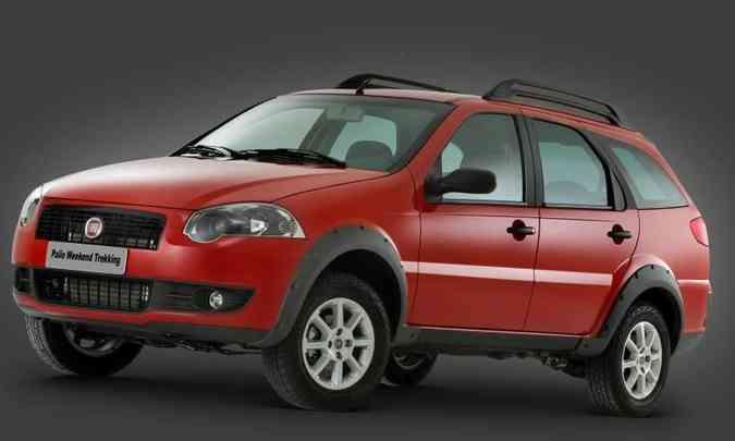 Em 2008, nova mudança de estilo e a perua resistia bravamente no mercado(foto: Fiat/Divulgação)
