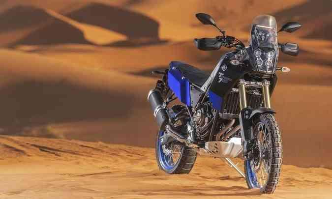 O desenvolvimento da Yamaha Ténéré 700 contou com a contribuição de consagrados pilotos(foto: Yamaha/Divulgação)