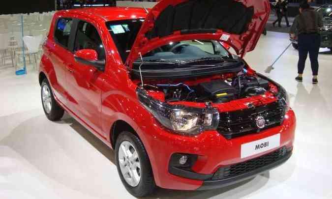 Fiat Mobi Drive com motor 1.0 três cilindros Firefly(foto: Bruno Freitas/EM/D.A Press)