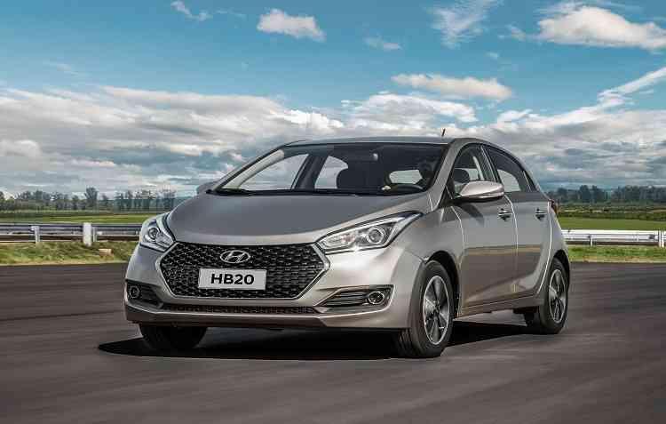 Hyundai apresenta a linha 2019 do HB20, em todas as carrocerias. Foto: Hyundai / Divulgação -