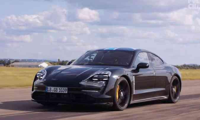 Porsche Taycan EV: